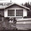 Kids Outside Eatonville Lumber Company