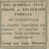 Mashell Telephone and Telegraph Company (1929)