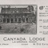 Canyada Lodge Ad (ca. 1920)