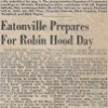 Eatonville Prepares for Robin Hood Day (News Tribune, July 18, 1954)