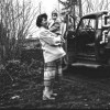 Dael Haynes at the Kids Pond & Loading Fish with Smallwood (March, 1956)
