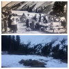Glacier Basin Adventure in early 1900s and today