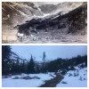 Glacier Basin, early 1900s vs. 2016