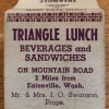 Triangle Lunch