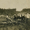 Moving from Horse to Case Tractor (ca. 1925)