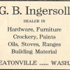 G. B. Ingersoll Keeps Eatonville in Hardware (1911)