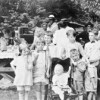 1920s Picnic with the Wenks, Williams and Van Eatons