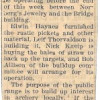 Eatonville to be Archery Center (Bootstrap 1954)