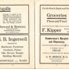 1912 Eatonville Ads (Bridge, Kipper, Bridge, Howard & Benston)