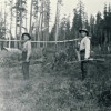 Young Trappers in Alder (early 1900s)