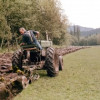 Plowing at the Burwash Farm (ca. 1976)