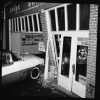 Car Crashes into Building on Mashell, 1960