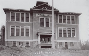Alder School built in 1909