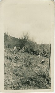Men at work on Ohop Creek — 1889