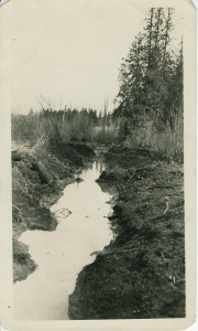 Ohop Settlers adjust Ohop Creek - 1889