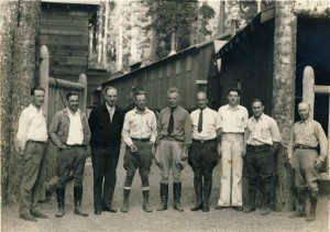 Men at Camp Narada Co. 1303
