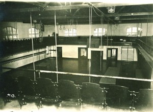 State of the art gym in 1915