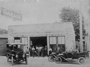 Charlie Williams Garage - 1914