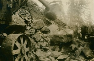 Working on Canyon Road 1920
