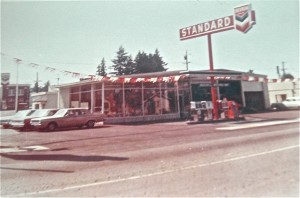 Exterior of Mashell Motors 1965