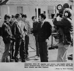 Boys being interviewed - By Channel 5 (Dispatch Photo)