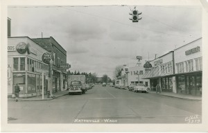 Eatonville Red & White Store around 1955