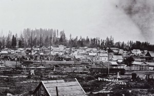 Eatonville looking west, ca 1915