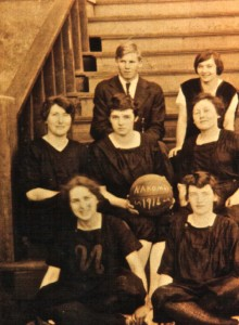1916 EHS Girl's Basketball Team