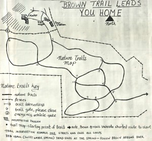 Map of Northwest Trek #2, 1977