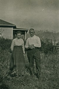 Sara Elizabeth Van Eaton Williams and her husband Nate Williams