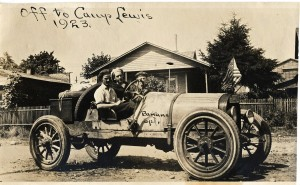 1923 Driving the Banana Special