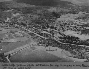 Town of Eatonville in  1954