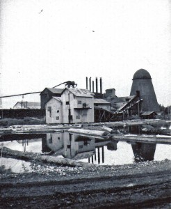 Eatonville Lumber Company, shut down by a strike in 1935