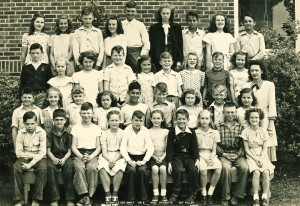 Miss Stinnette's 1946'7 5th grade class