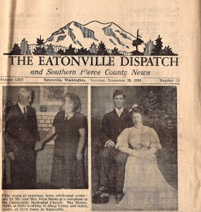 Malm 50th Wedding Anniversary from the Dispatch