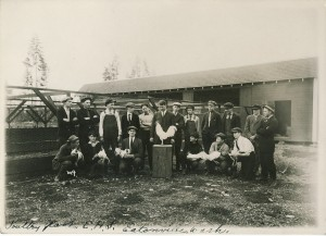 1914, Poultry Farm at Eatonville High School