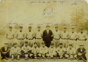 Eatonville Lumber Co., Japanese Baseball team, with Galbraith