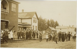 Redman Hall, ca  July 4,1910