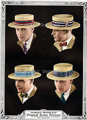 Swiss Straw Hat ad in 1926