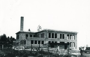 EHS under construction ca. 1915