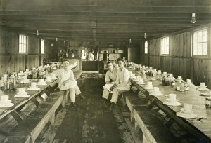 Cooks at Eatonville Lumber Company dining room