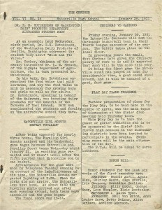 The Cruiser paper - January 28, 1931
