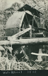 Water wheel in 1912