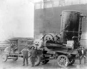 Tacoma Logging machinery - Griffith & Graeber Logging