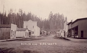 Berlin Ave. in Elbe (ca. 1915)