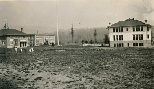 Eatonville Gym, High School & Grade School (ca. 1916)