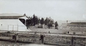 Eatonville grandstand and gyms (ca. 1920s)