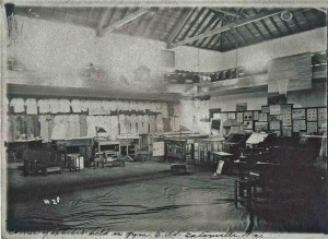 Exhibit in Eatonville Gym (ca. 1920)