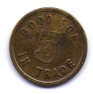 Fairbairn Token (early 1900s)