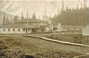 Eatonville Lumber Mill (early 1900s)